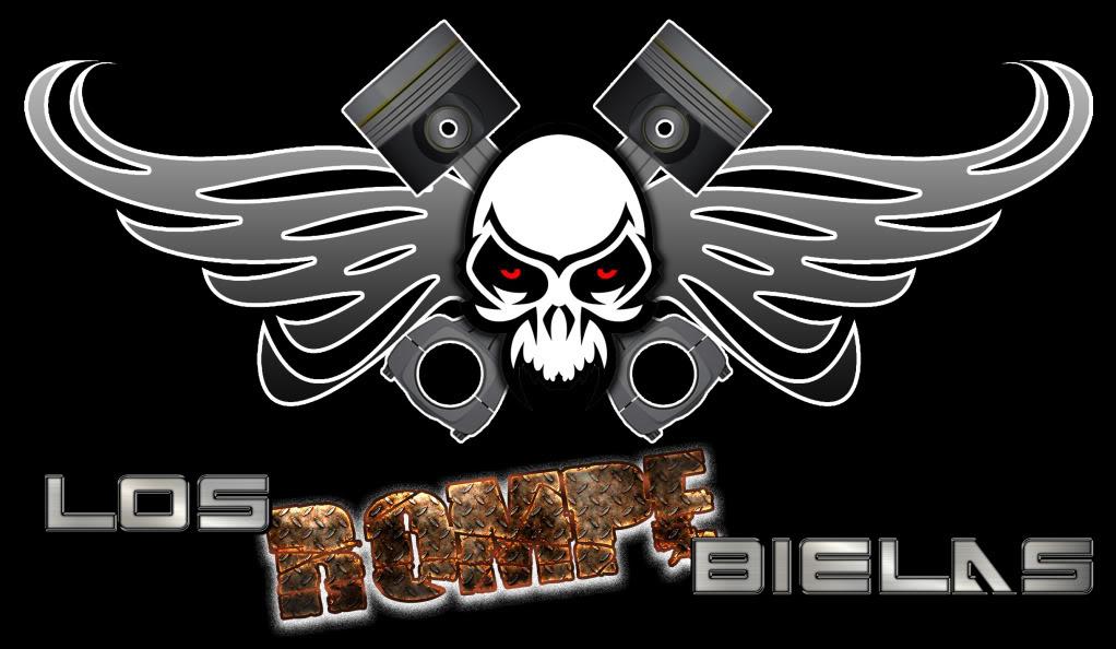 Posible logo de Los Rompe Bielas de Forza 4 LogoBielasNegroNombre