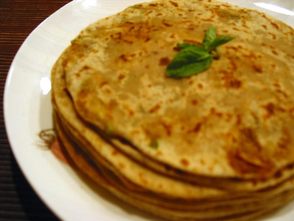 Oriental , Arabic , Indian   cuisine Paratha