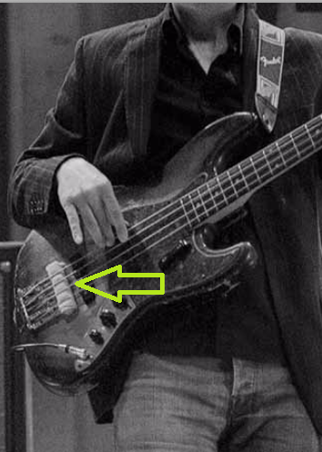 Espuma/pano Baixo Jazz Bass Bass