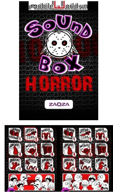 Sound Box và Spooky sound machine- ứng dụng phát tiếng âm rùng rợn. (Update new)  Soundbox