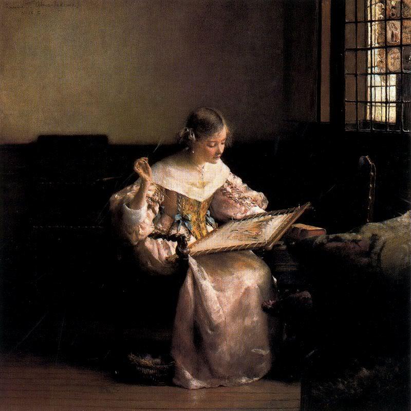>>>El dia a dia de ayer y de hoy en la pintura>>> LALawrenceAlma-Tadema