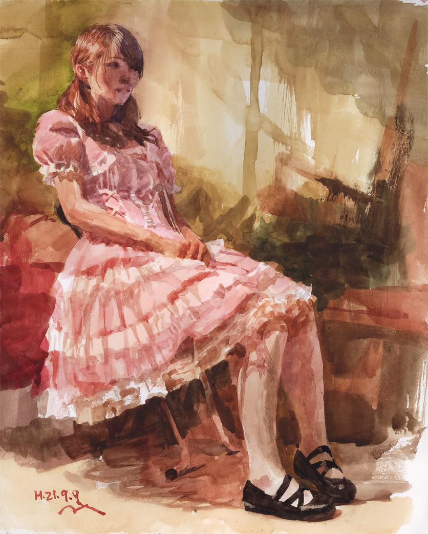 Pintura: Misawa Hiroshi  Misawahiroshi3