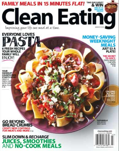 REVISTA DE COMIDA clean eating MARZO 2013 CleanEatingMarch2013