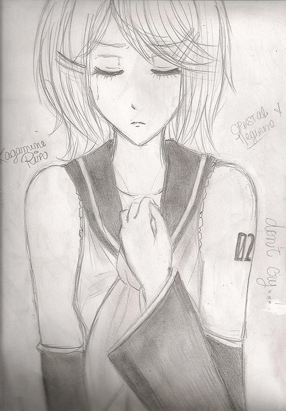   Fan Arts de Vocaloid <3    By Luka ~ Rin_Kagamine_Dibujo_By_Luka