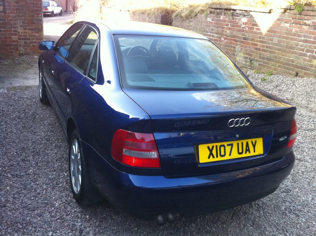 AUDI A4 1.9 TDI - Full Audi Service History - £2600 o.n.o. IMG_0384