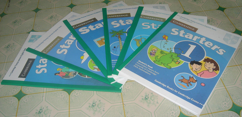 Cambridge Starters 1-7 Full Collection (eBook + Audio CDs) Bộ sách Starters 1 – 7  Cambridge-Starters_zps47971373