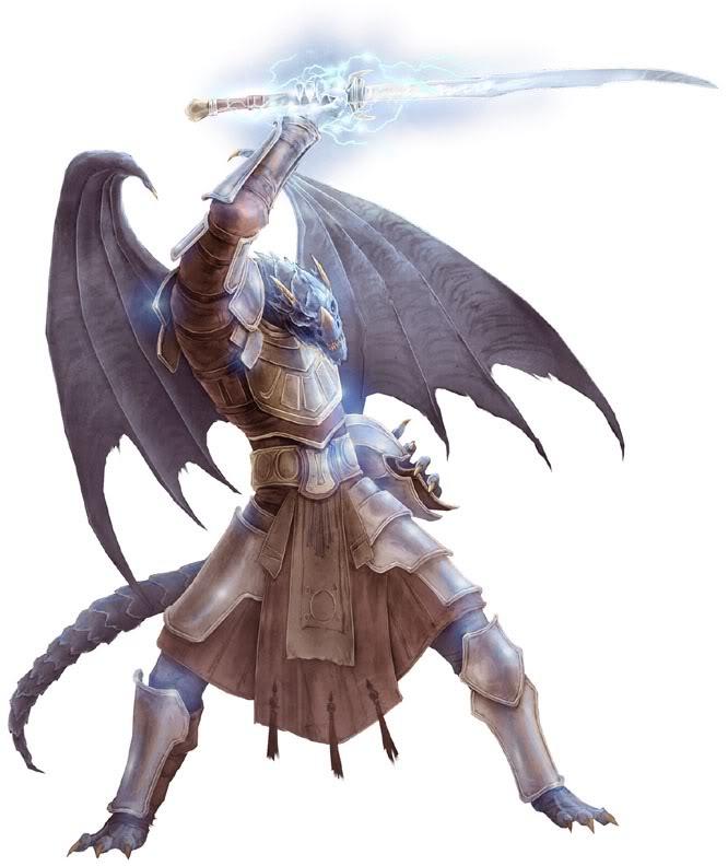 Searath Characters Half-dragon