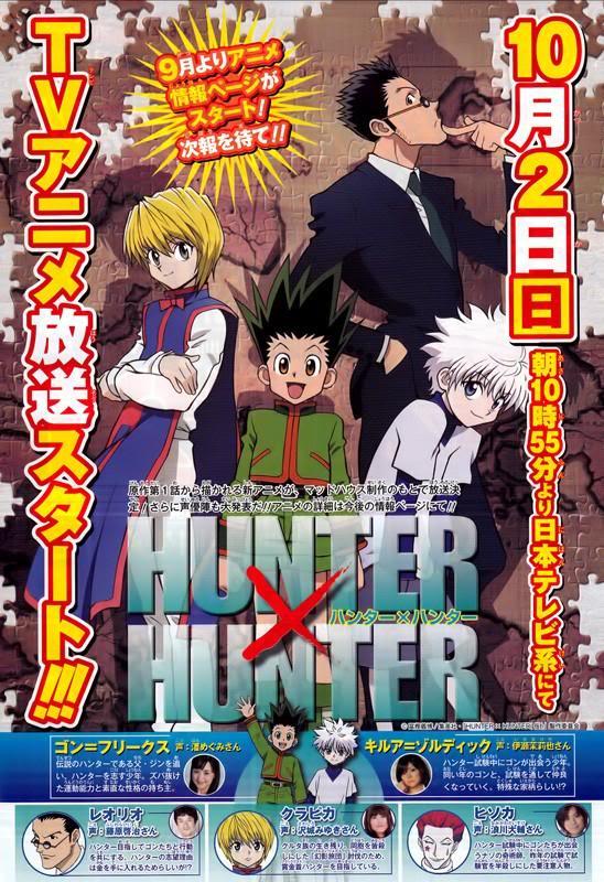 """""""Confirmado Nuevo Anime Para Hunter x Hunter"""" HunterxHunter-seiyuu"""