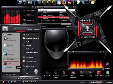 AlienWare (mx17x) ,  Mad Catz Mouse (Cyborg Rat 9)  & Mad Catz Keyboard :)) Alien_Huy