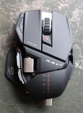 AlienWare (mx17x) ,  Mad Catz Mouse (Cyborg Rat 9)  & Mad Catz Keyboard :)) RAT-mouse-2-1