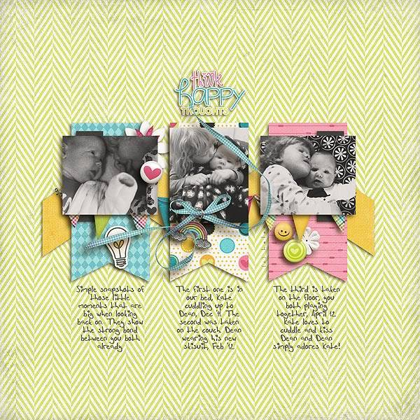 New for 5/4 Happy Thoughts Kit Little-big-moments
