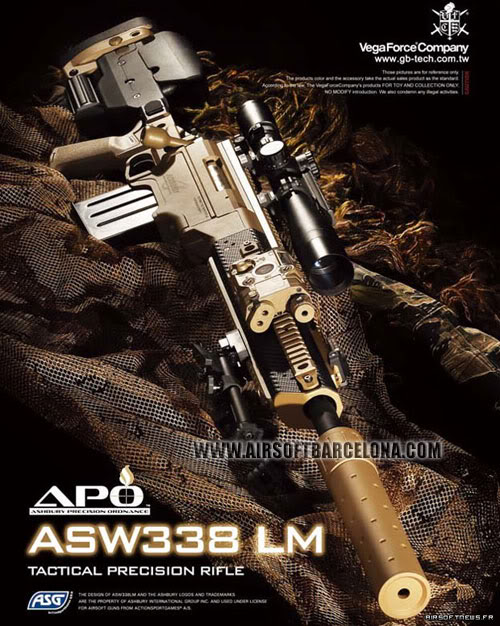 Nueva G36K ASW338