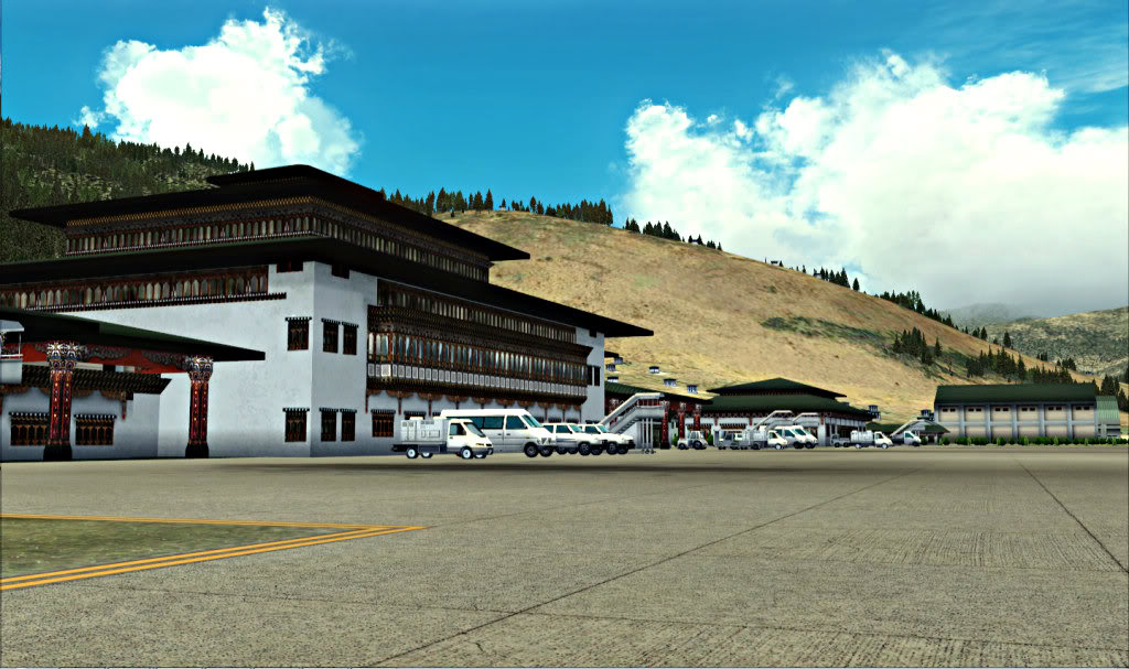 THAI Creation - PARO Intl Airport Paro9