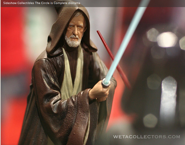 "Obi Wan-Darth Vader ""The Circle Is Now Complete"" BenKenobi2"