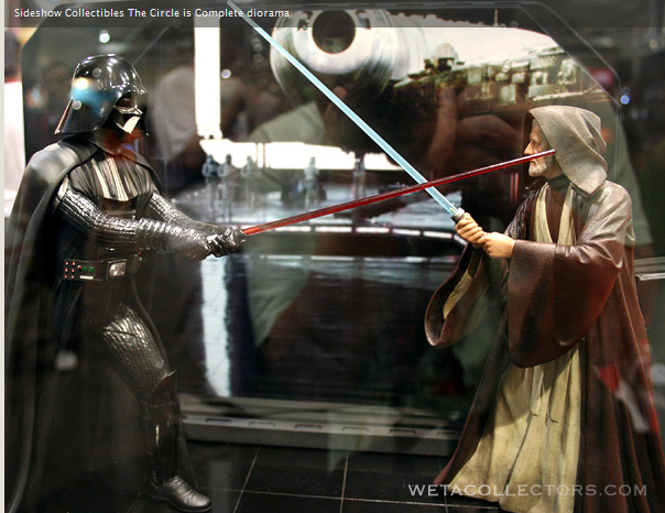 "Obi Wan-Darth Vader ""The Circle Is Now Complete"" DarthVaderVsBenKenobi"