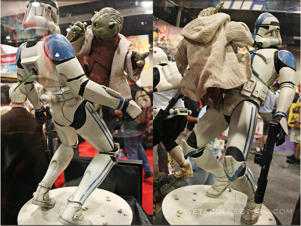 Yoda and Clone Trooper Premium format ! YodaClonetrooper3