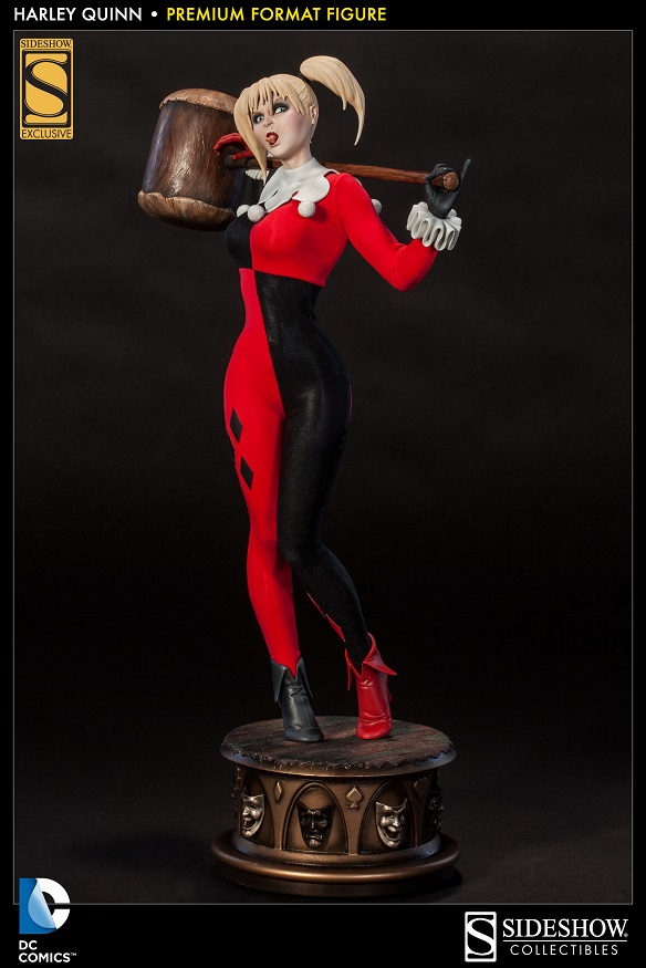Sideshow Harley Quinn 1/4 Premium Format 3002271_press03-Copy_zps56822c0c