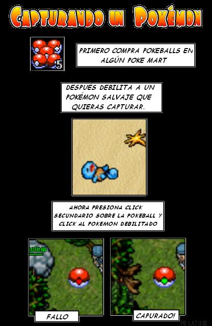 Capturar un Pokemon CapturandounPokemon