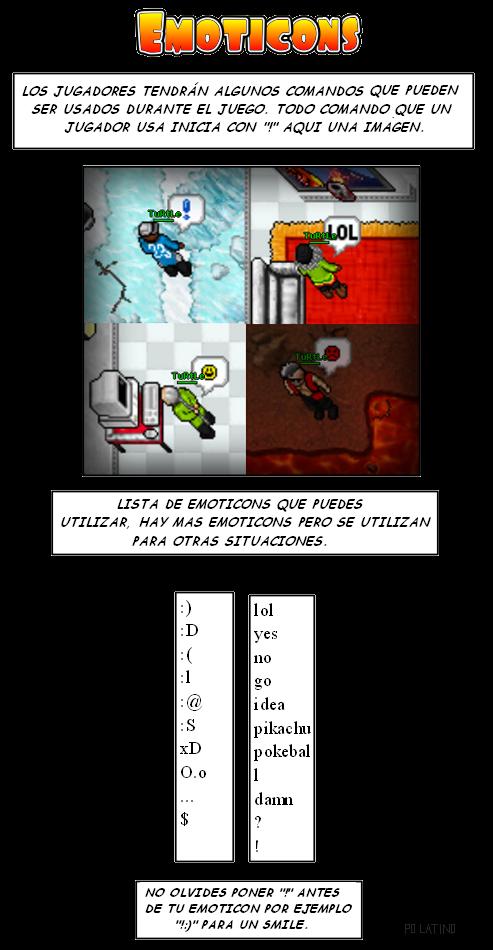 Usar Emoticons EmoticonsPokemonLatinoforos