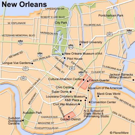City Map of NOLA Url-2