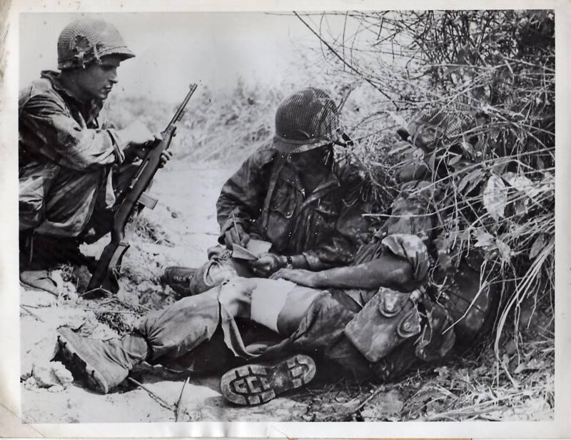 photos des combats Paras