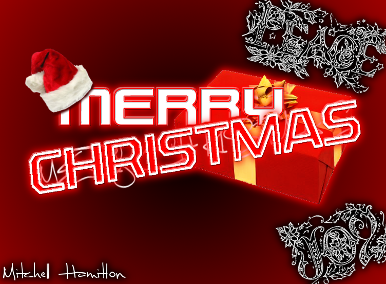 Post Up Your graphic work! ChristmasEdit