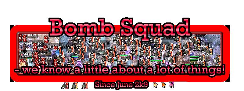 bomb squad ~