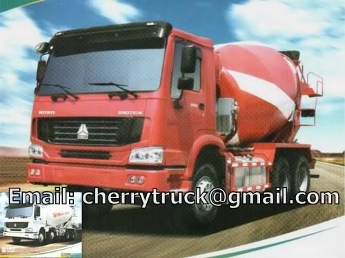SINOTRUK HOWO Concrete Mixer Truck, Transit Mixer, Cement truck, Construction HOWOConcretemixer