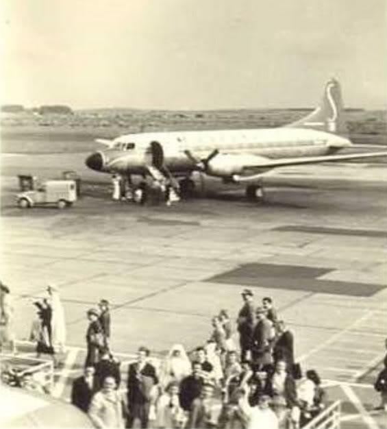 Photos anciennes 2cv-avionSabenaMelsbroek