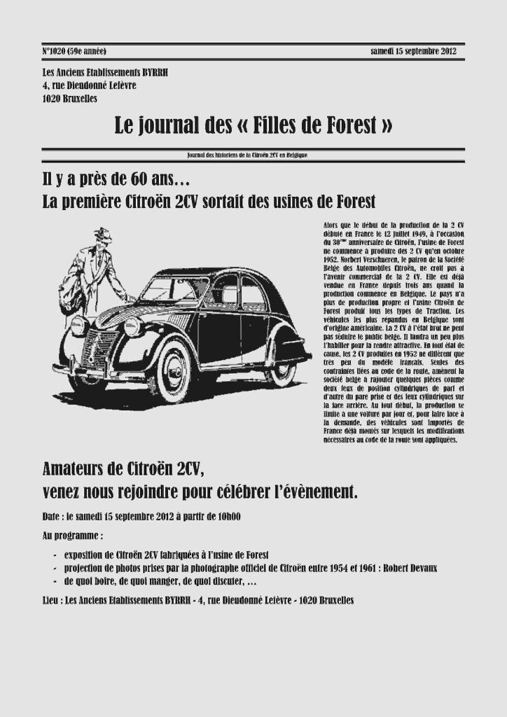15 septembre Les Filles de Forest 60_ans10