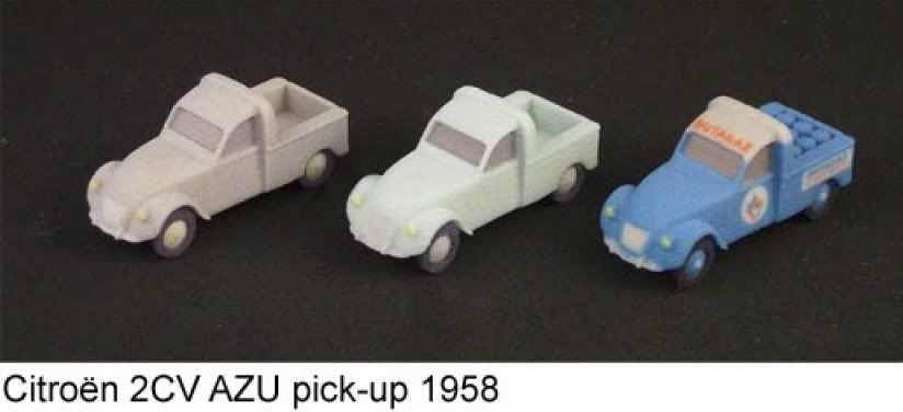A2Models A2Models-2cvAZUpick-up1958