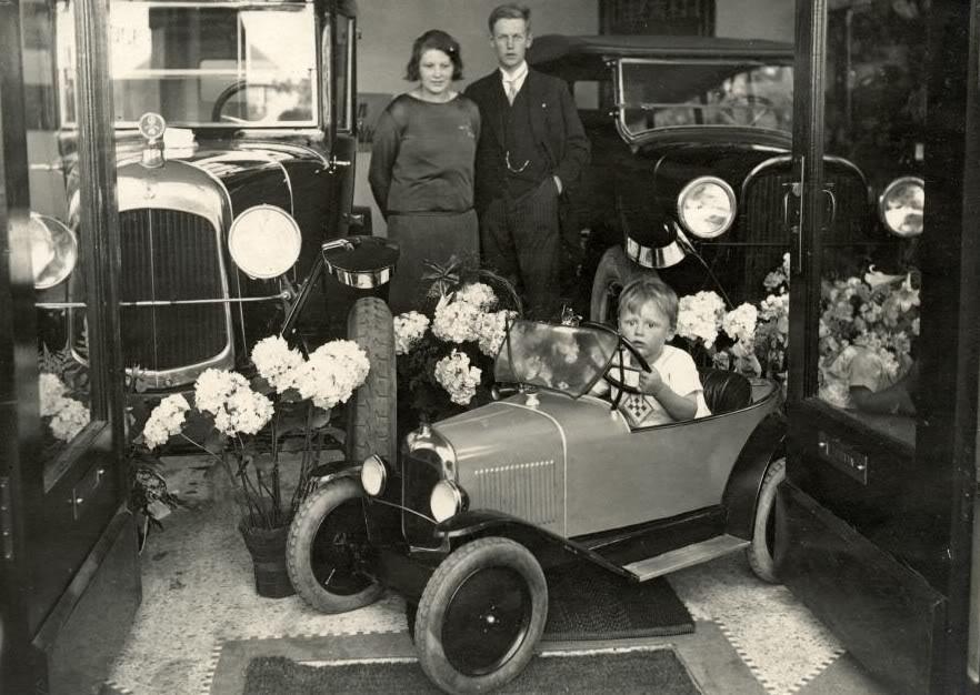 Photos anciennes Citroen-Citroenette-Bussum1925-2