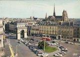 Photos et cartes postale 2cv camionnette  Th_DijonCote-dOr