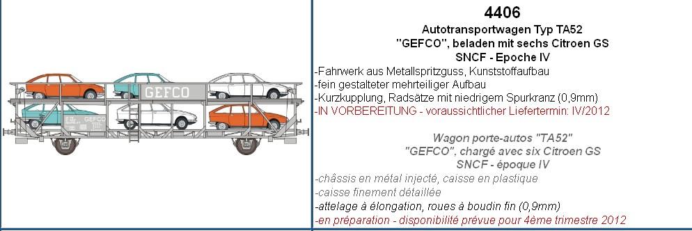 MAKETTE Citroën au 1/87° Wagonporte-autosGS