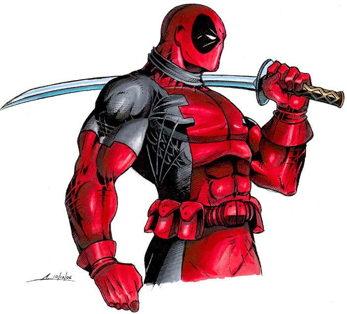 ELIGE TU VILLANO O ANTI-HEROE DE COMIC FAVORITO. Deadpool