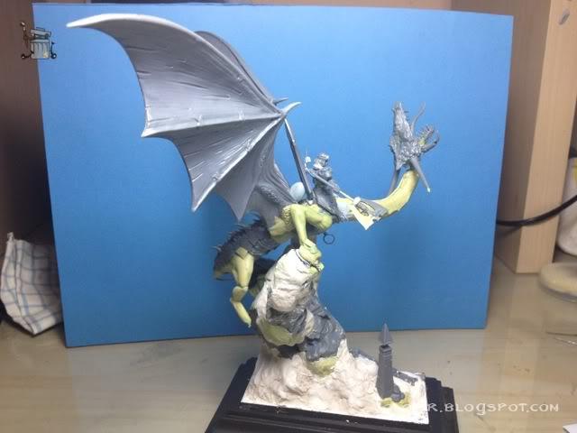 brutal paso a paso de un dragon alto elfo Dragon_wip_055