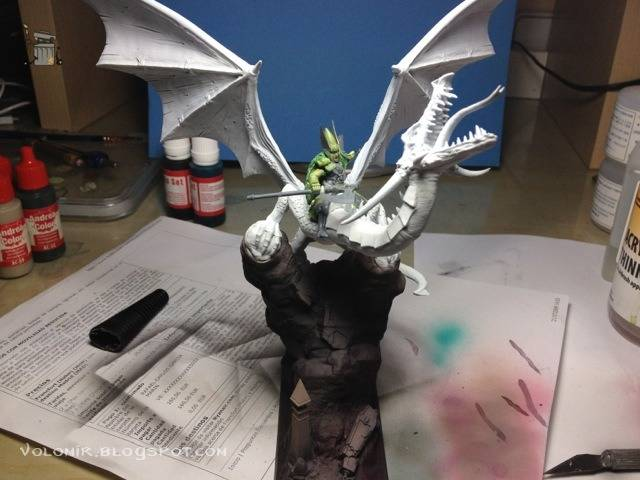 brutal paso a paso de un dragon alto elfo Dragon_wip_168