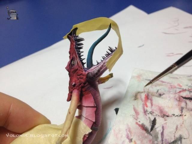brutal paso a paso de un dragon alto elfo Dragon_wip_224