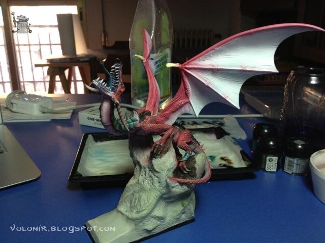 brutal paso a paso de un dragon alto elfo Dragon_wip_251