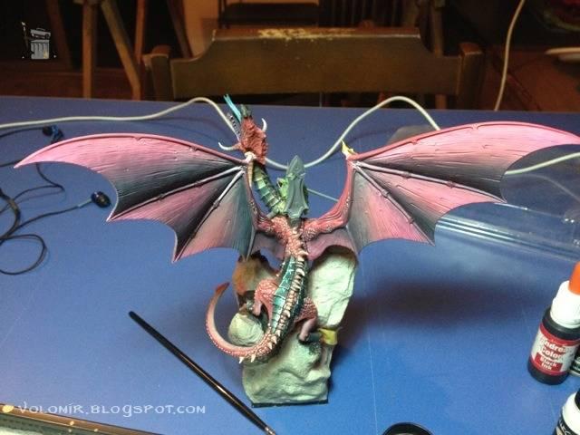 brutal paso a paso de un dragon alto elfo Dragon_wip_261