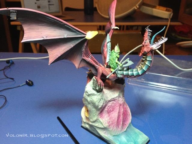 brutal paso a paso de un dragon alto elfo Dragon_wip_262