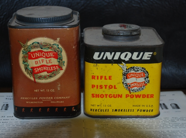 Just how old is this can of Bullseye? Uniquepowdercans002_zps79600f94