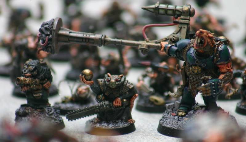 Zelophahad's Ratmen with guns Moulderwithbossandflamer