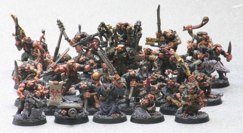 Zelophahad's Ratmen with guns Skyresmutants