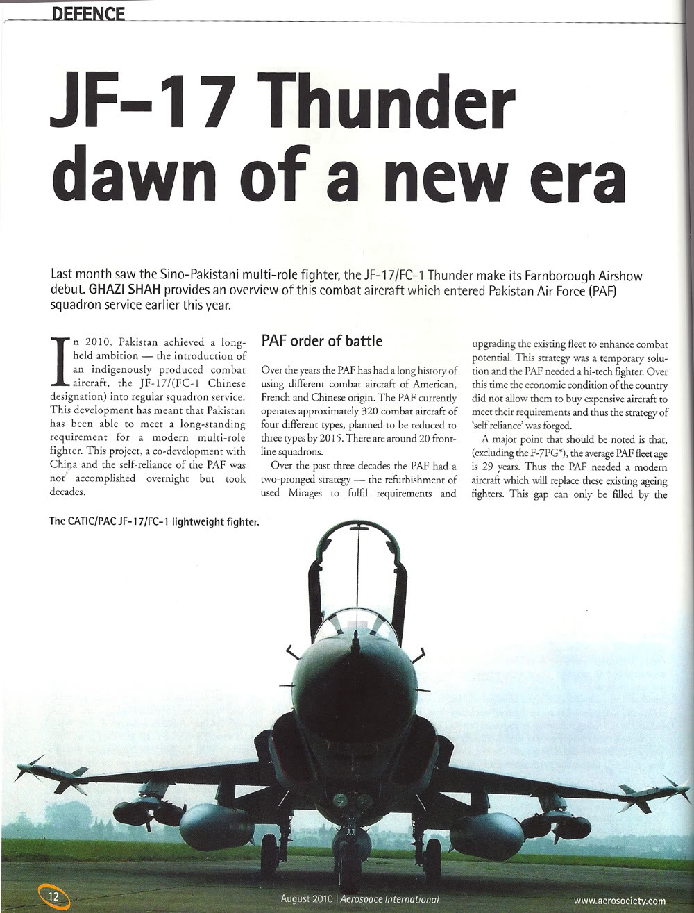 FC-1/ JF-17 Thunder: News Jf-17_aug28a