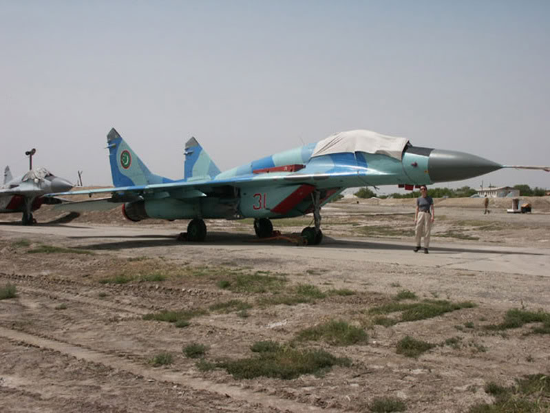 Armée du Turkménistan / The Armed Forces of Turkmenistan MiG-29S_Fulcrum-C-turkmenistan