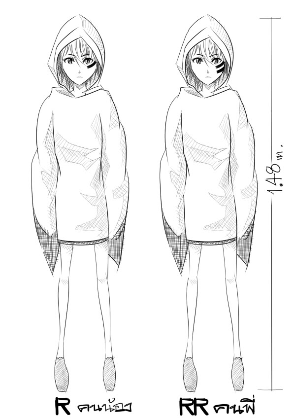 [Character CF2] รอบที่ 4 ฝาแฝด R&RR Caracter