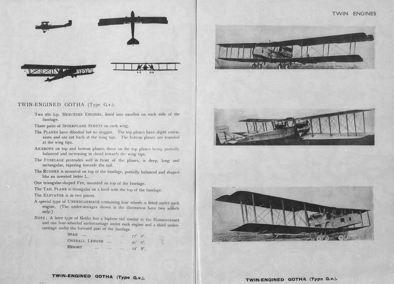 Aircraft Recognition Gotha