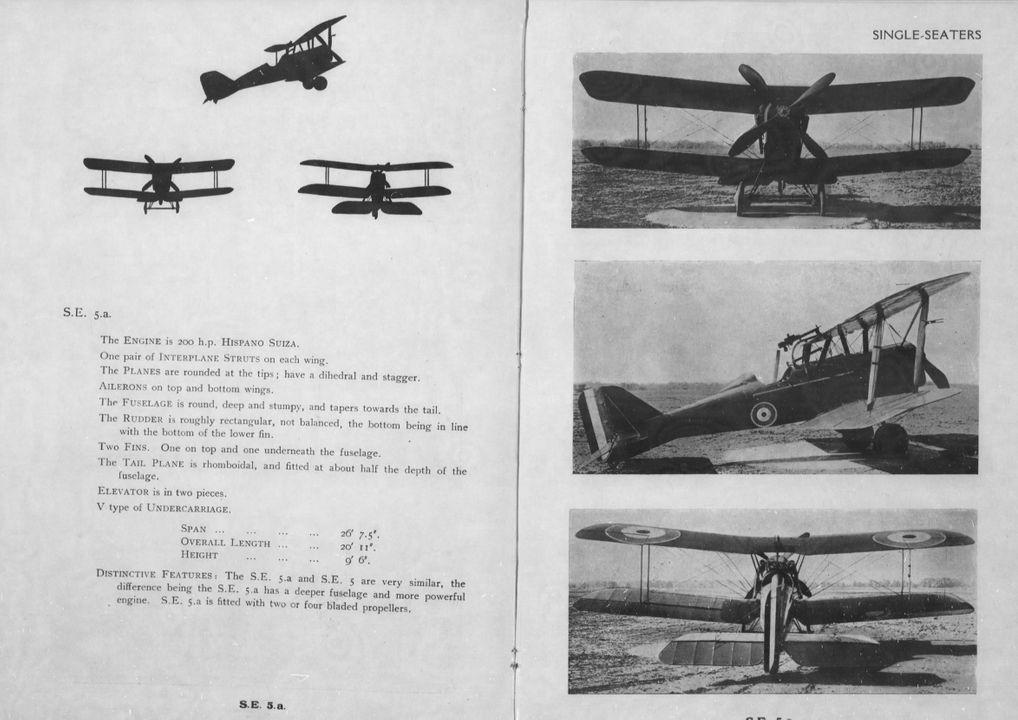 Aircraft Recognition SE5a