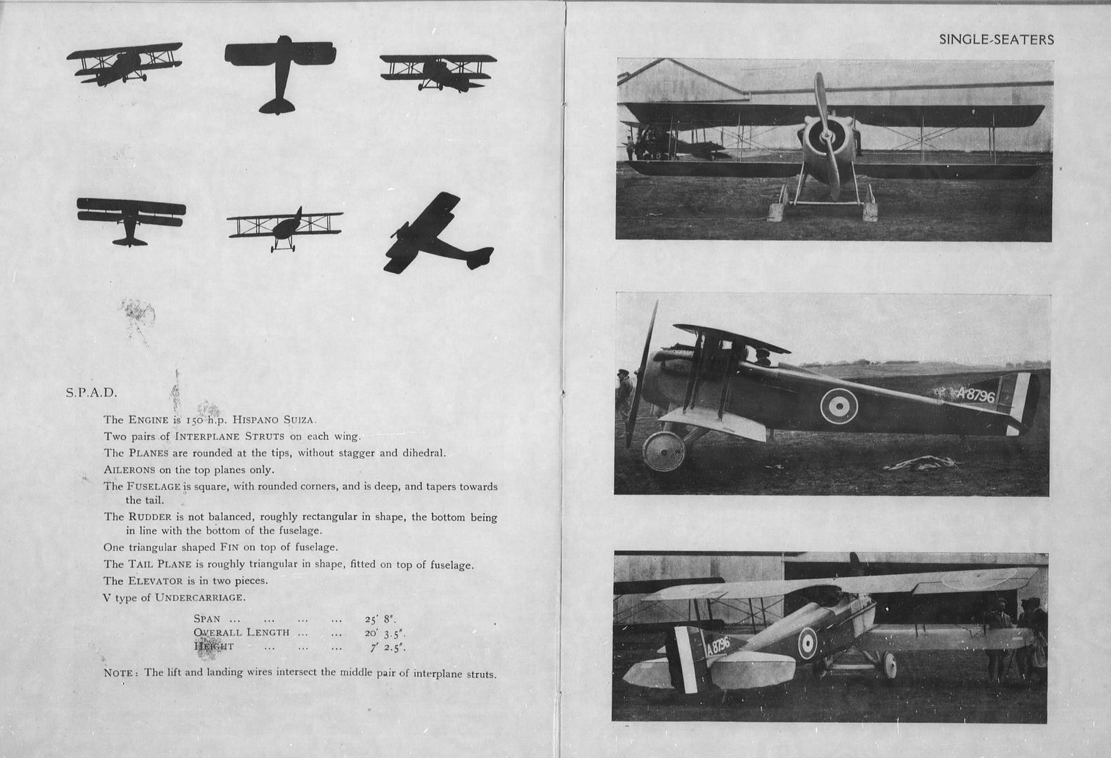 Aircraft Recognition SPAD